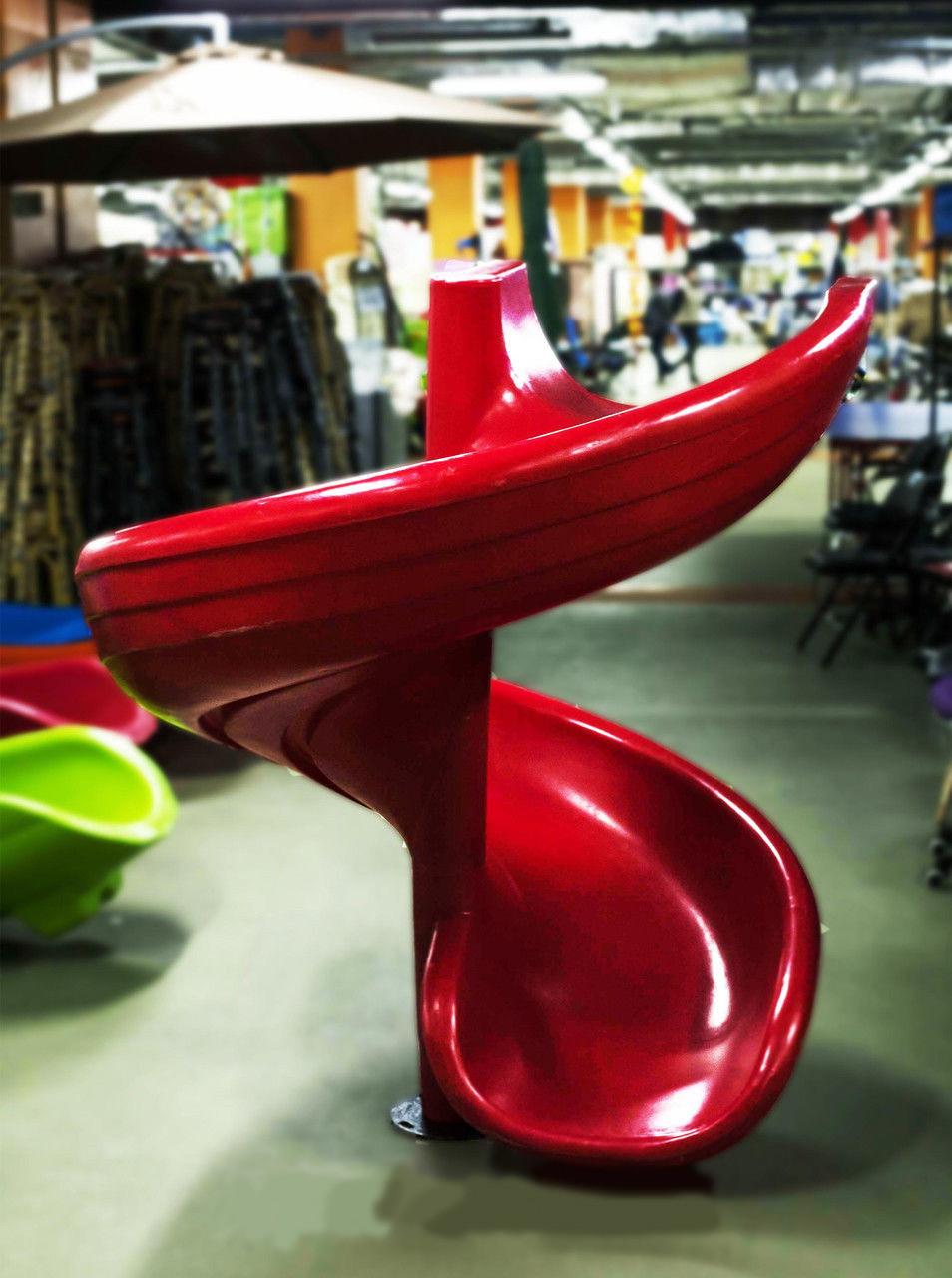 Горка спираль для детских игровых комплексов