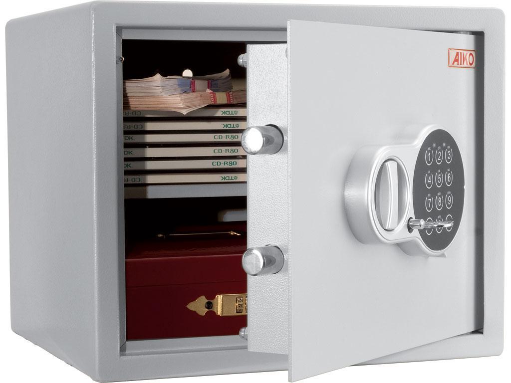 Офисный и мебельный сейф AIKO T-28EL (280х340х295)