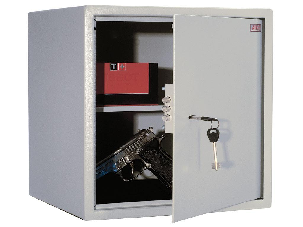 Офисный и мебельный сейф AIKO T-40 (401х400х356)