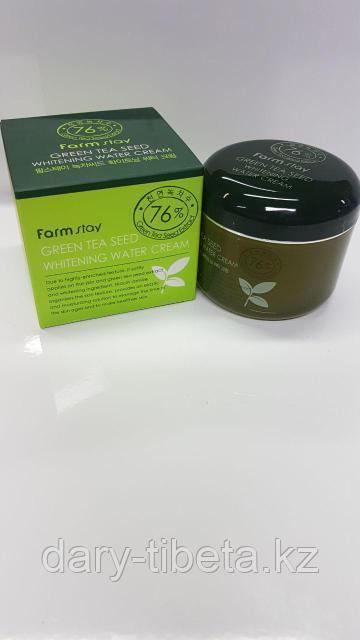 Farm Stay Green Tea Seed Whitening Water Cream -Увлажняющий крем с экстрактом зеленого чая