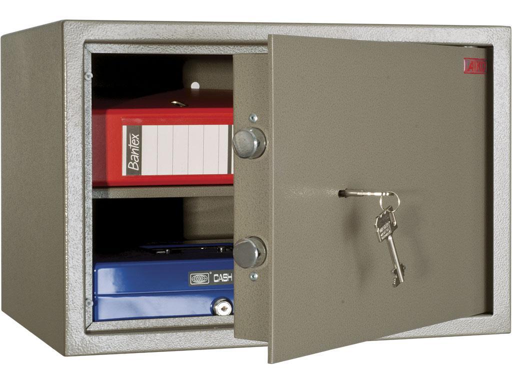 Офисный и мебельный сейф AIKO TM.30 (300х440х355)