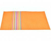0626 FISSMAN Комплект из 4 сервировочных ковриков на обеденный стол 45x30 см (ПВХ)