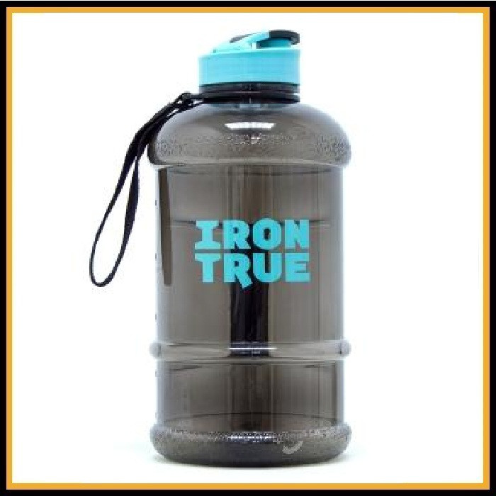 Бутыль Iron True 1300 мл черный