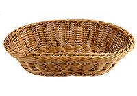 Хлебница 27х18,5 см коричневая