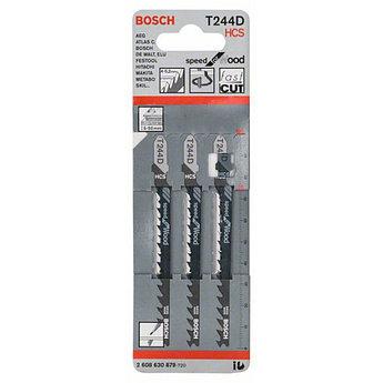 (2608630879) 3 ЛОБЗИКОВЫЕ ПИЛКИ T 244 D,HCS//Bosch