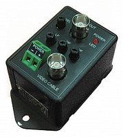 Одноканальный активный  усилитель видеосигнала 960H для коаксиального кабеля AVT-EXC871