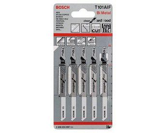 (2608634234) 5 ЛОБЗИКОВЫХ ПИЛОК T 101 BF, BIM // Bosch