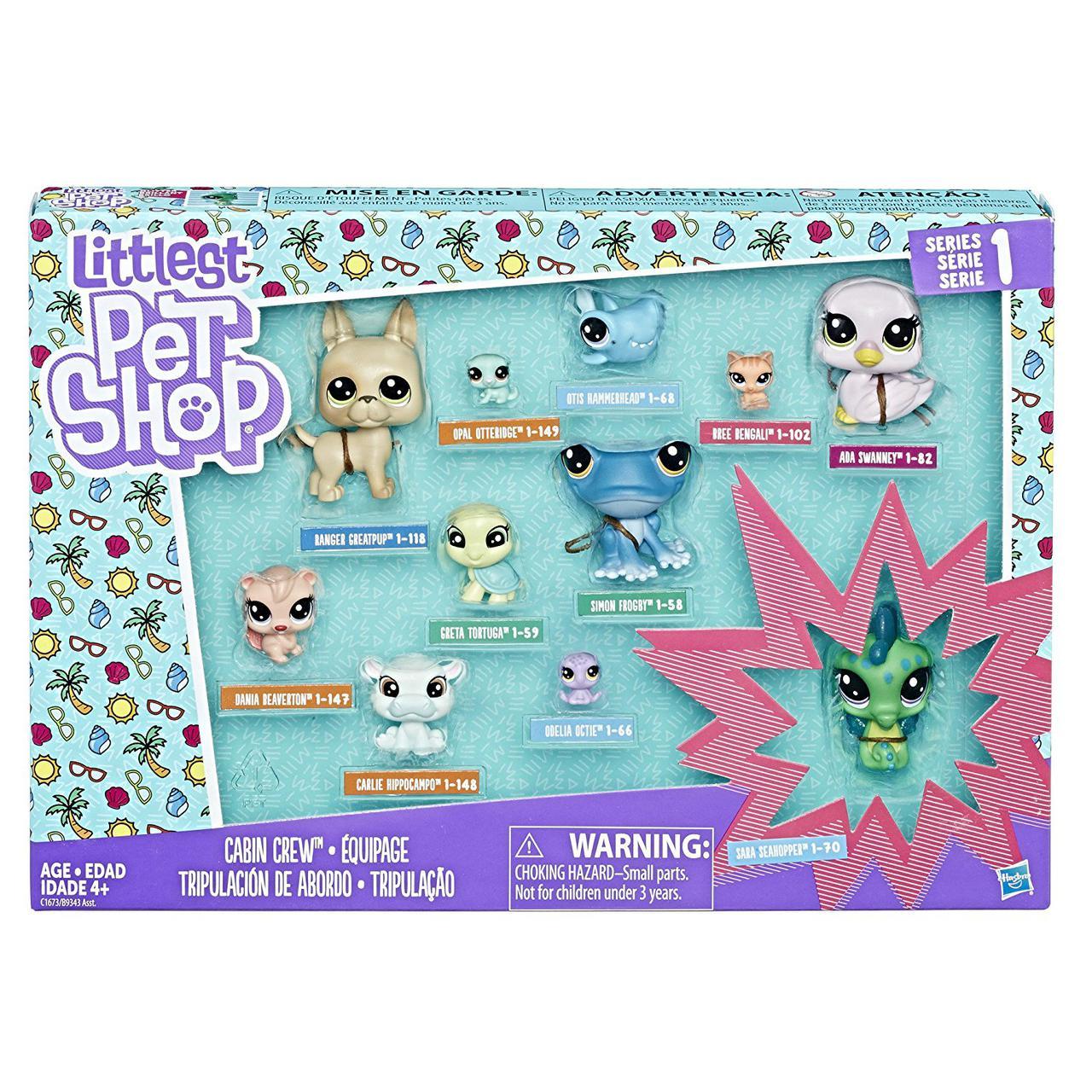 """Hasbro Littlest Pet Shop Набор из 11 коллекционных фигурок """"Литл Пет Шоп"""" (1 серия)"""