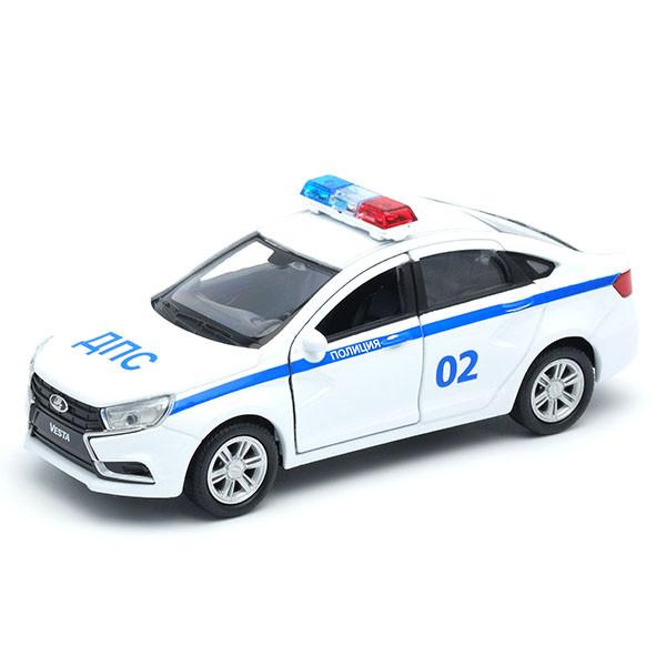 1/34 Welly Металлическая модель Lada Vesta Полиция ДПС