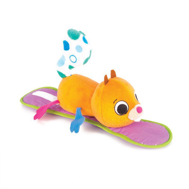 """Happy Snail Мягкая игрушка на коляску """"Белка Хруми"""""""