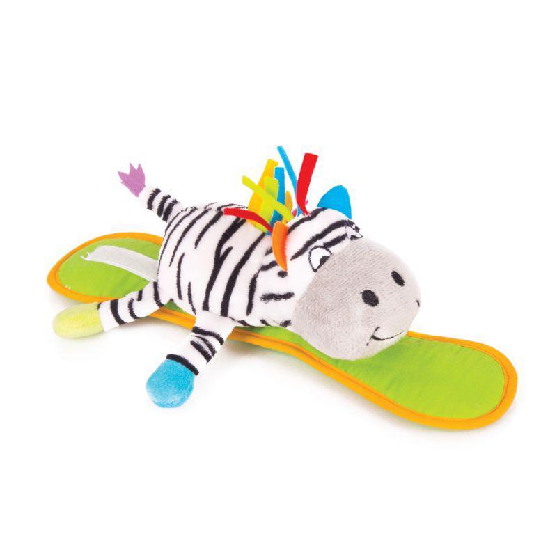 "Happy Snail Мягкая игрушка на коляску ""Зебра Фру-Фру"""
