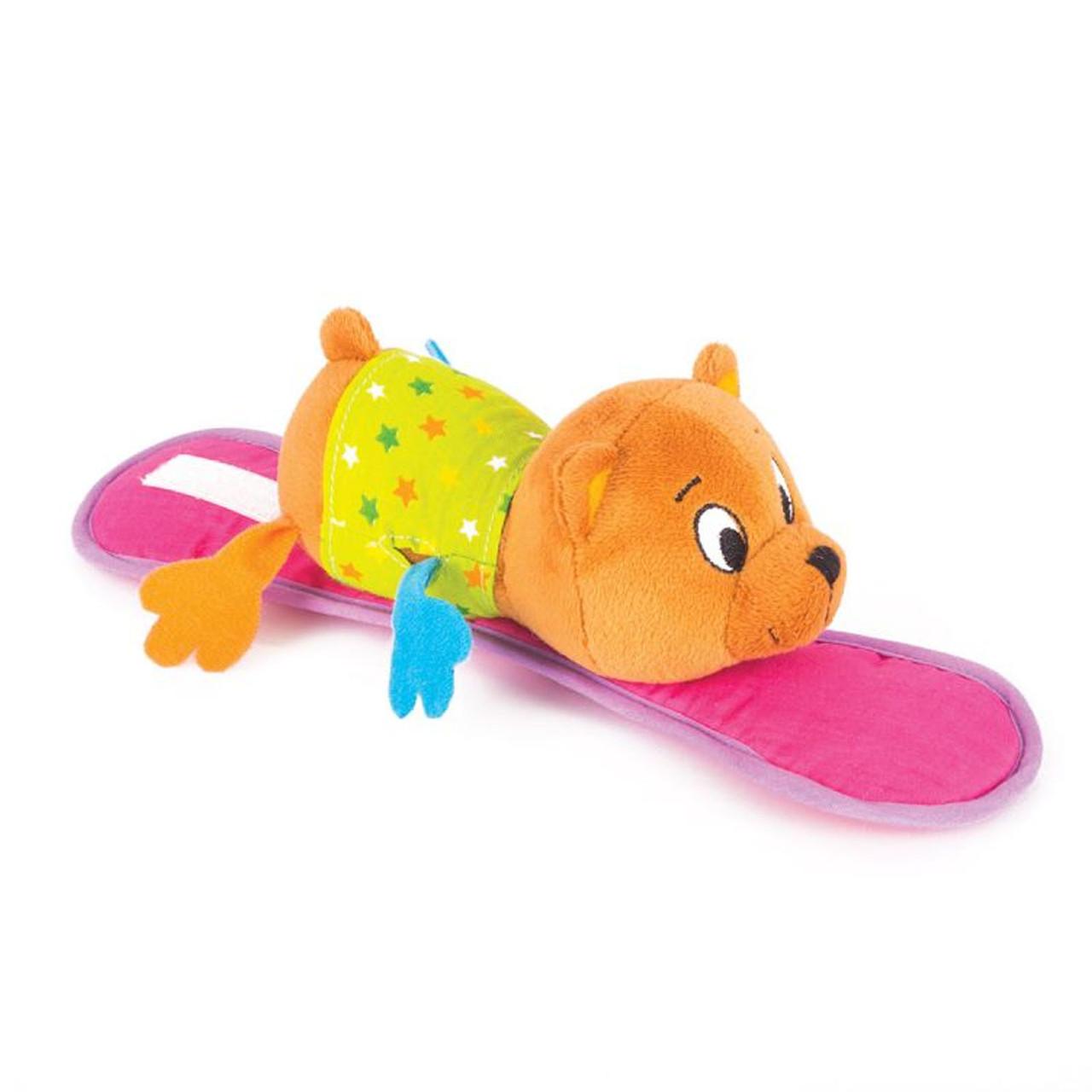 """Happy Snail Мягкая игрушка на коляску """"Медвежонок Берни"""""""