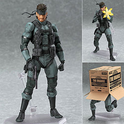 "Figma ""Metal Gear Solid 2: Sons of Liberty"" Фигурка Солид Снэйк №243"