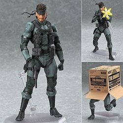 """Figma """"Metal Gear Solid 2: Sons of Liberty"""" Фигурка Солид Снэйк №243"""