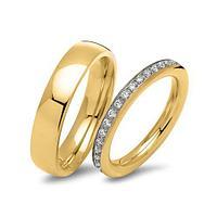 Высококачестввенные позолоченные обручальные кольца. Новое поступление.