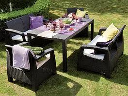 Комплекты плетеной мебели из искусственного ротанга