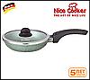 Сковорода с каменным покрытием Nice Cooker 26 (Бирюзовый), 2,2 литра