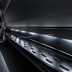 Пороги, подножки Mercedes Benz M Class W166 2012-