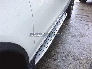 Пороги на Mercedes Benz GLE Coupe C292 2015-