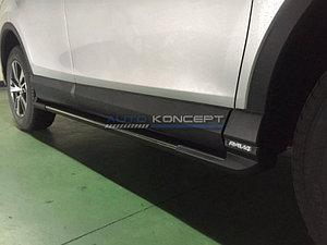 Пороги на Toyota Rav 4 2016-