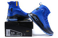 """Баскетбольные кроссовки Under Armour Curry IV """"Blue/Black"""" (36-46), фото 6"""