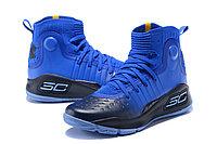 """Баскетбольные кроссовки Under Armour Curry IV """"Blue/Black"""" (36-46), фото 2"""