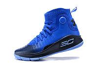 """Баскетбольные кроссовки Under Armour Curry IV """"Blue/Black"""" (36-46), фото 3"""