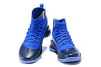 """Баскетбольные кроссовки Under Armour Curry IV """"Blue/Black"""" (36-46), фото 4"""