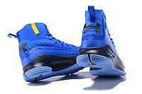 """Баскетбольные кроссовки Under Armour Curry IV """"Blue/Black"""" (36-46), фото 5"""