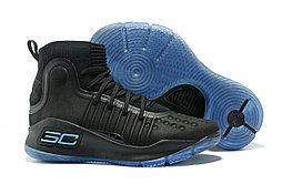 """Баскетбольные кроссовки Under Armour Curry IV """"Black/Blue"""" (36-46)"""
