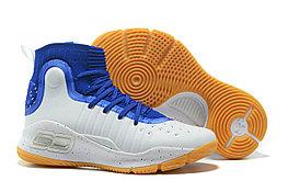 """Баскетбольные кроссовки Under Armour Curry IV """"Blue/White/Gum"""" (36-46)"""