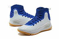 "Баскетбольные кроссовки Under Armour Curry IV ""Blue/White/Gum"" (36-46), фото 2"