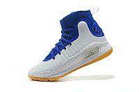"Баскетбольные кроссовки Under Armour Curry IV ""Blue/White/Gum"" (36-46), фото 3"