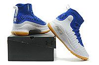 "Баскетбольные кроссовки Under Armour Curry IV ""Blue/White/Gum"" (36-46), фото 6"