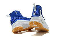 "Баскетбольные кроссовки Under Armour Curry IV ""Blue/White/Gum"" (36-46), фото 5"