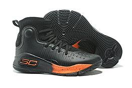 """Баскетбольные кроссовки Under Armour Curry IV """"Black/Orange"""" (36-46)"""