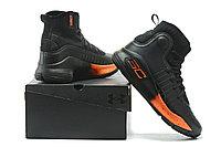 """Баскетбольные кроссовки Under Armour Curry IV """"Black/Orange"""" (36-46), фото 2"""