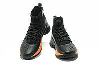 """Баскетбольные кроссовки Under Armour Curry IV """"Black/Orange"""" (36-46), фото 4"""