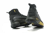 """Баскетбольные кроссовки Under Armour Curry IV """"Black/Gold"""" (36-46), фото 4"""