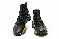 """Баскетбольные кроссовки Under Armour Curry IV """"Black/Gold"""" (36-46), фото 5"""