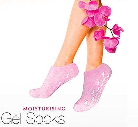 Увлажняющие силиконовые СПА-носочки SPA GEL SOCKS, фото 2