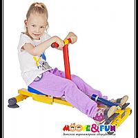 Тренажер детский механический гребной с одной рукояткой (SH-04-A)