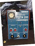 Машина полуавтоматической сварки инверторного  типа ПДГИ-200А