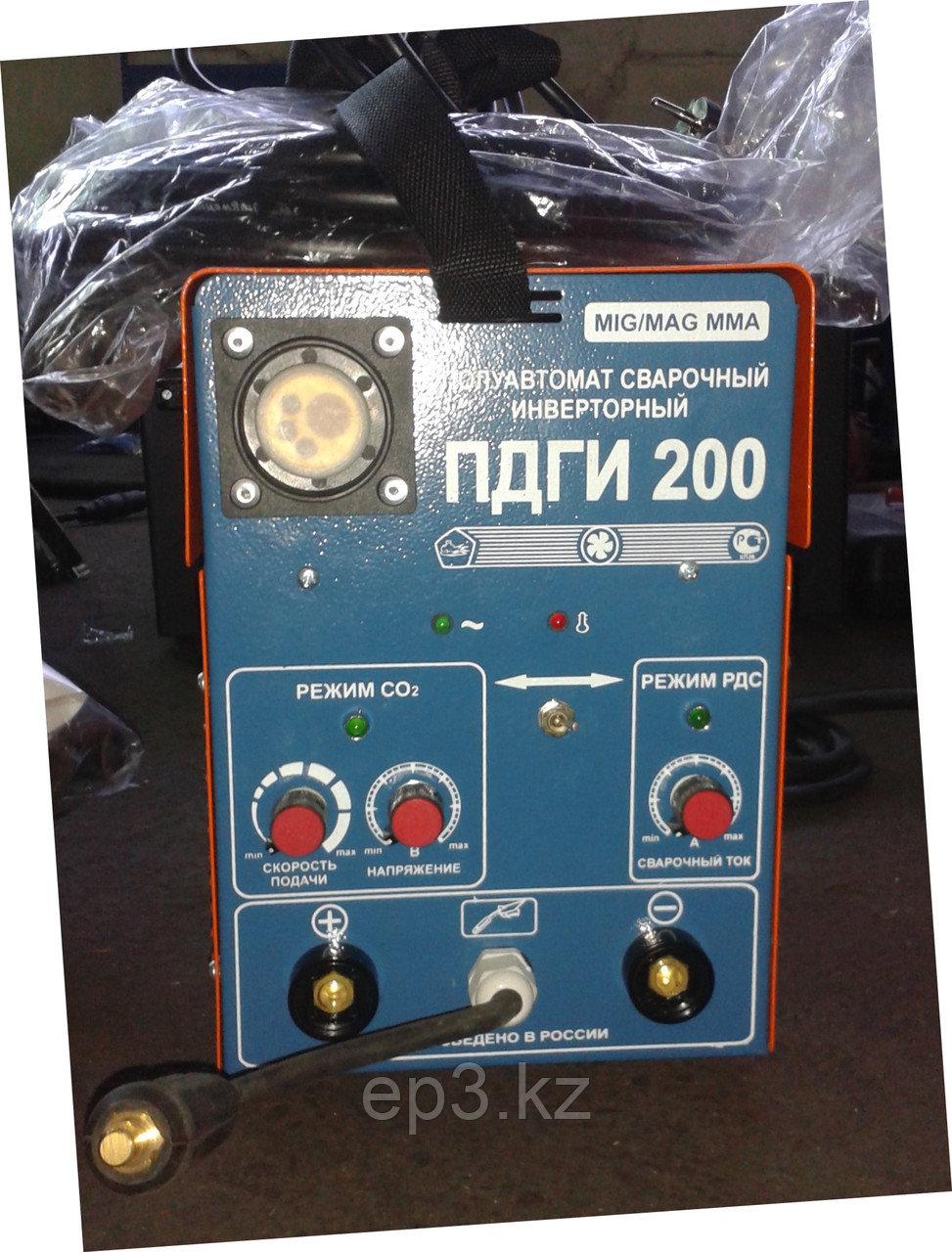 "Машина полуавтоматической сварки инверторного типа ПДГИ-215 220В ""мустанг"" - фото 1"