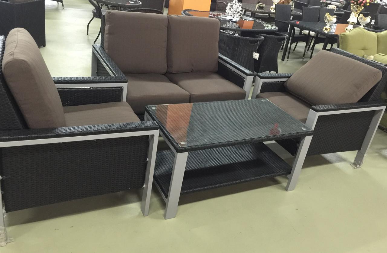 Набор мебели, искусственный ротанг