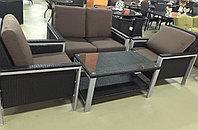 Набор мебели, искусственный ротанг, фото 1