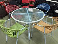 Обеденная группа стол 4 кресла, фото 1