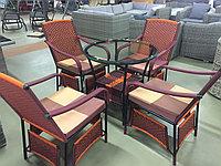 Комплект плетённой Мебели (ручная работа), фото 1