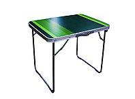 Стол складной, туристический, 70 * 50 см, зеленый
