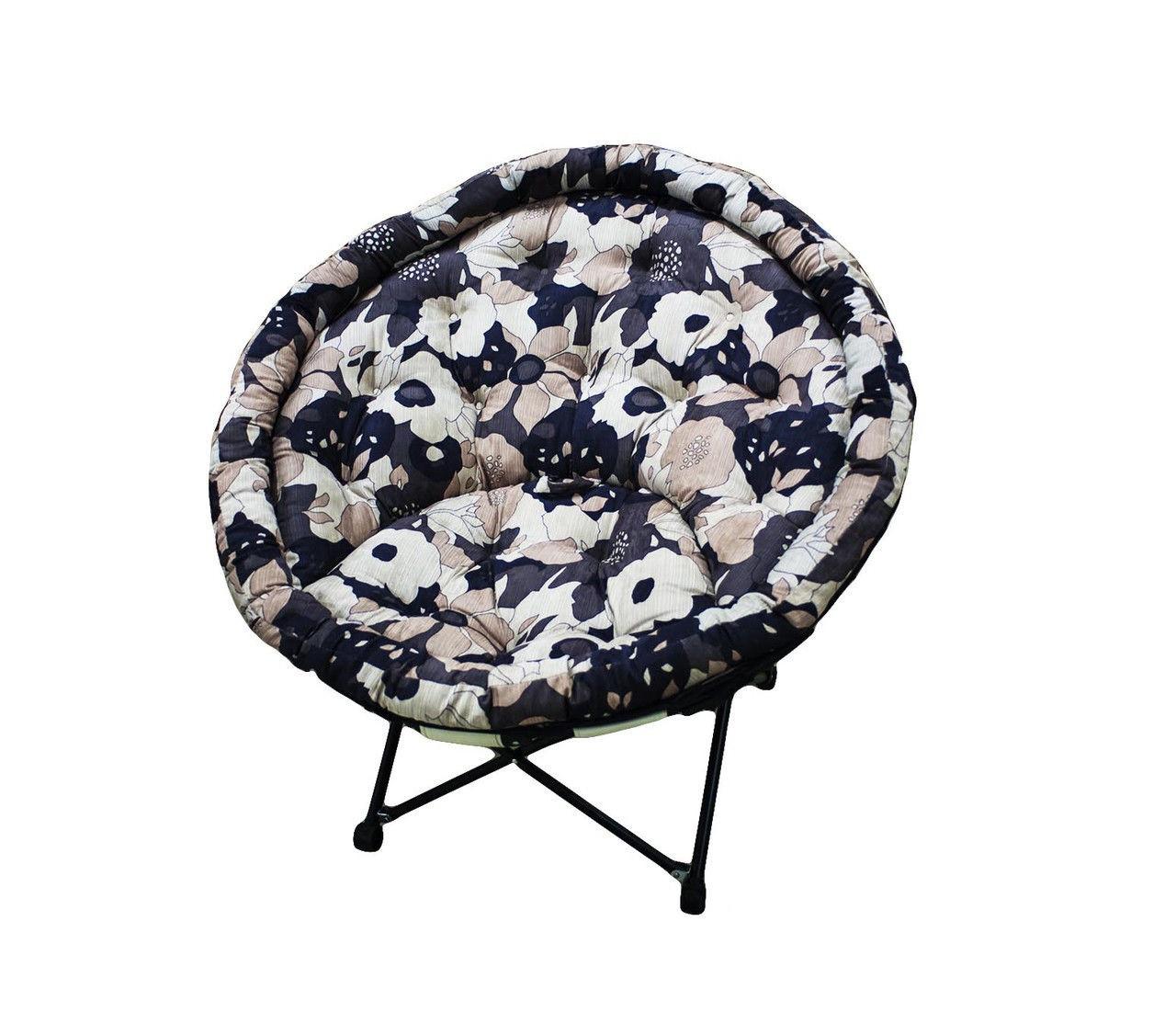 Кресло, 102 * 94 см, коричневый